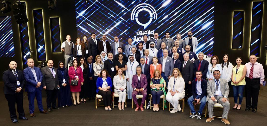 صورة جماعية في ختام أعمال المؤتمر (تصوير: أسامة طوباسي / أبونا)